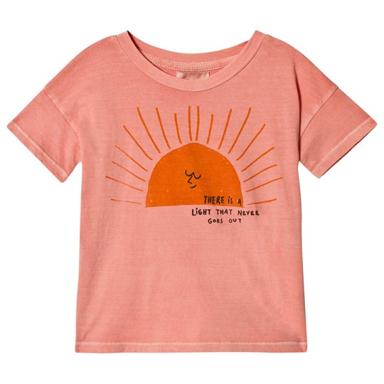 Bobo Choses Sun Short Sleeve T-Shirt Lobster Bisque Lobster Bisque