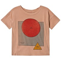 Bobo Choses Know Short Sleeve T-Shirt Muted Clay Muted Clay