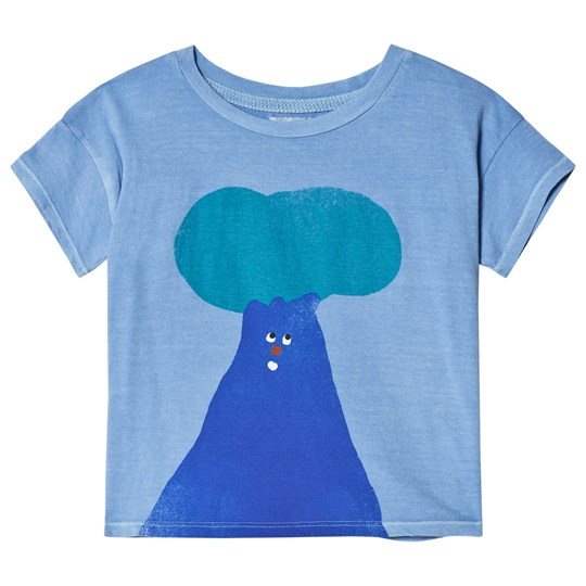 Bobo Choses Tree T-shirt Heritage Blue Heritage Blue