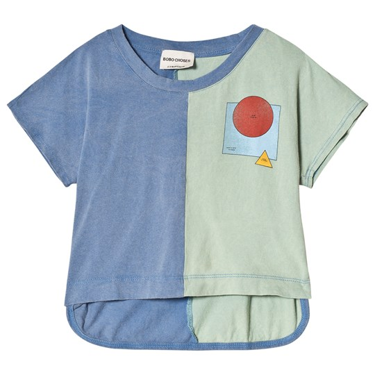 Bobo Choses Know Bi-Color Sleeveless T-Shirt Beryl Green Beryl Green