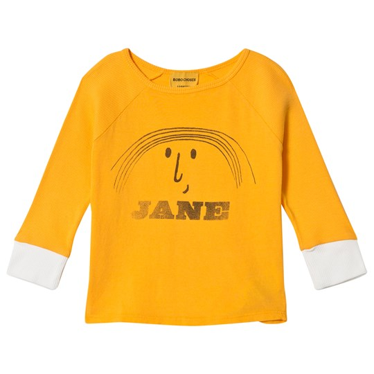 Bobo Choses Little Jane 3/4 Sleeve T-Shirt Banana Banana