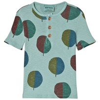 Bobo Choses Forest Buttons T-shirt Beryl Green Beryl Green