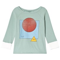 Bobo Choses Know 3/4 Sleeve T-Shirt Beryl Green Beryl Green