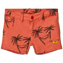 Bobo Choses Siesta Tennis Linen Shorts Spice Route Spice Route