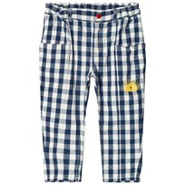 Bobo Choses Vichy Baggy Pants Turkish Sea Turkish Sea