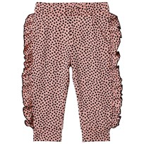 BANG BANG Copenhagen Pink and Black Spot Aya Leggings Pink and Black