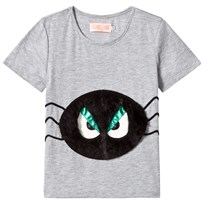 BANG BANG Copenhagen Black and White Spider Grumpy Boy Tee Black and White