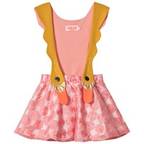 BANG BANG Copenhagen Pink Swan Bird Girl Dress Pink