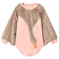 BANG BANG Copenhagen Pink and Gold Fluffy Silvia Sylph Swan Dress Pink