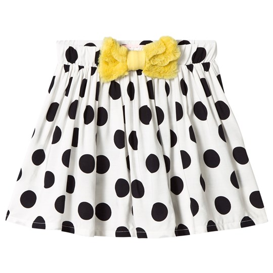 BANG BANG Copenhagen White and Black Spot Chilli Dot Skirt White and Black