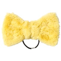 BANG BANG Copenhagen Yellow Fluffy Fantastic Bow Hair Tie Yellow