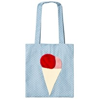 BANG BANG Copenhagen Blue Dot Ice Cream Yummi Tote Blue