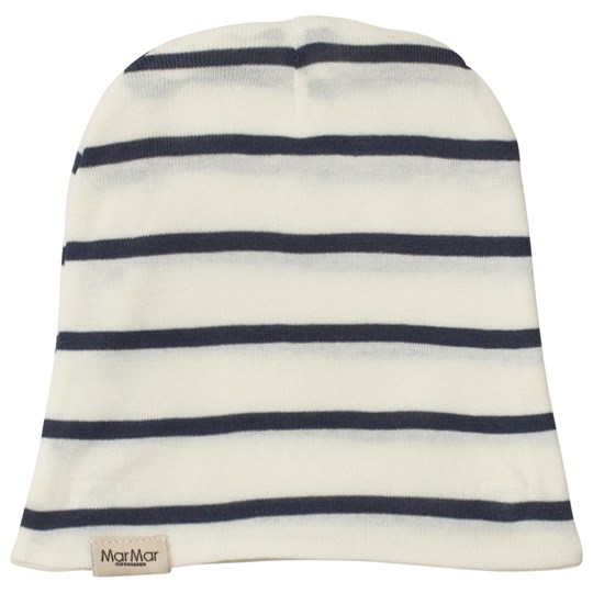 MarMar Copenhagen Beanie Gentle White/Blue Gentle White/Blue