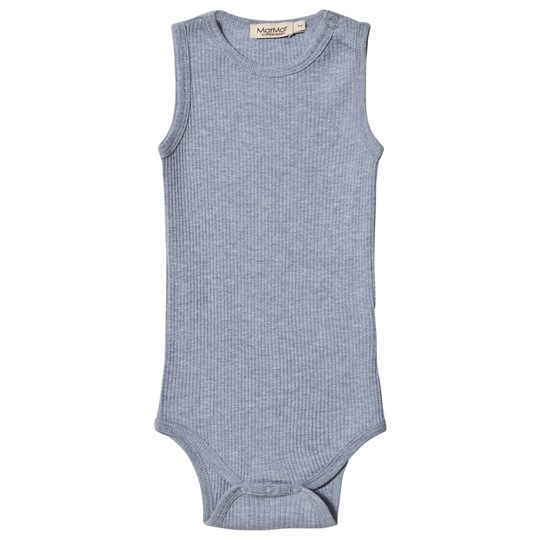 MarMar Copenhagen Body Sleeveless Body Mid Blue Melange Mid Blue Melange