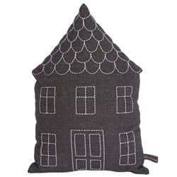 Roommate House Cushion Anthracite