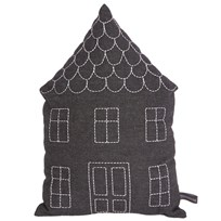 Roommate House Cushion Anthracite Black