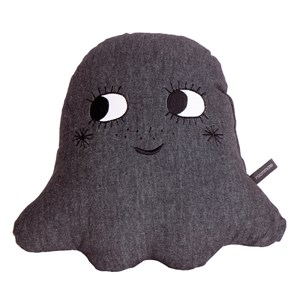 Image of Roommate Little Ghost Cushion Anthracite (3056060225)