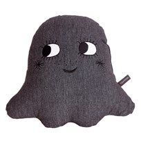 Roommate Little ghost cushion anthracite Black