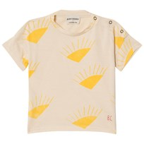 Bobo Choses Sun Short Sleeve T-Shirt Buttercream Buttercream