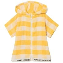 Bobo Choses Yellow Vichy Poncho Banana Banana