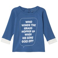 Bobo Choses Who Long Sleeve T-Shirt Turkish Sea Turkish Sea