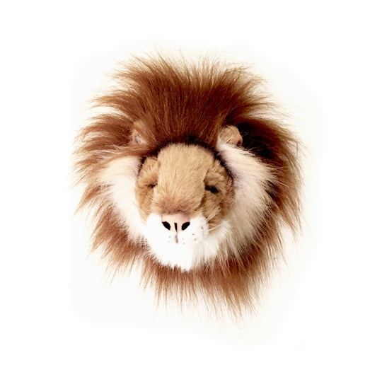 Roomfriends Lion Mini Animal Head Yellow