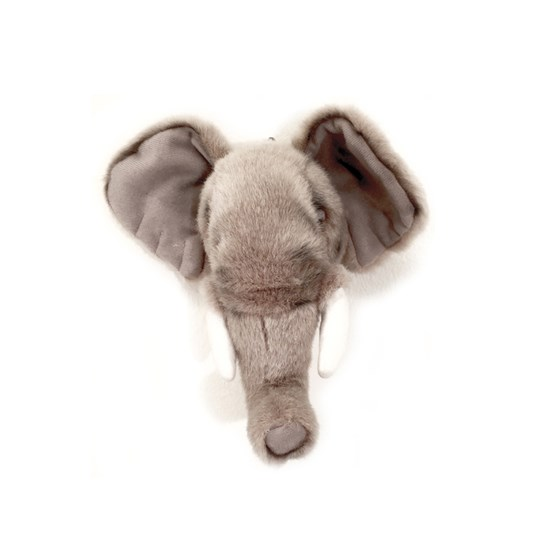 Roomfriends Elephant Mini Animal Head Black