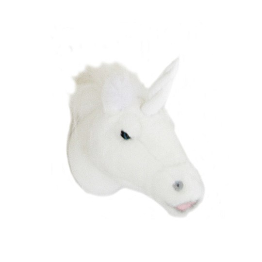 Roomfriends Unicorn Mini Animal Head White