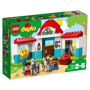Image of LEGO DUPLO 10868 LEGO® DUPLO® Farm Pony Stable (3151387701)