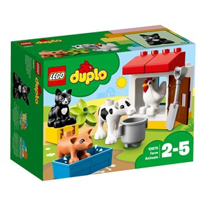 Image of LEGO DUPLO 10870 LEGO® DUPLO® Farm Animals One Size (1041996)