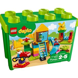 Image of LEGO DUPLO 10864 LEGO® DUPLO® Large Playground Brick Box (2946008087)