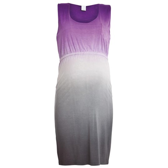 Mamalicious Summer Jersey Dress Purple