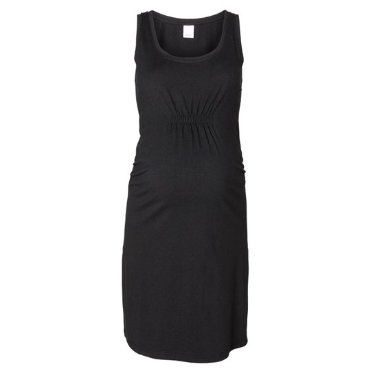 Mamalicious Irena Jersey Knee Dress Black Black