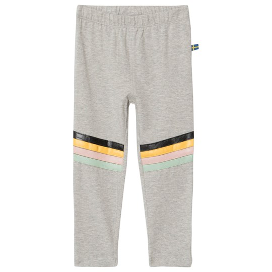 The BRAND Rainbow Leggings Grey Melange Grey Mel