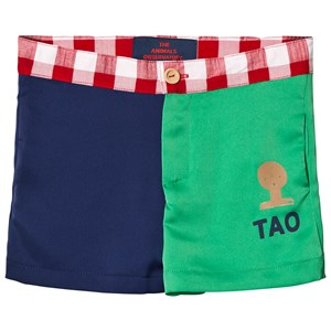 Image of The Animals Observatory Bee Shorts Blue/Green Tao Bus 8 år (1024651)
