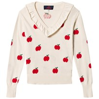 The Animals Observatory Horsefly Kids Sweater Red Apple Red Apple