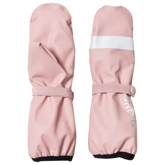 Kuling Rain Mittens with Fleece Lining Pink Pink