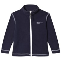 Kuling Kiev Fleece Jacket Black Iris Marinblå