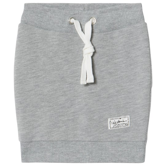 I Dig Denim Carol Pencil Skirt Grey Melange Grey Melange