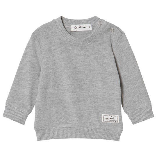 I Dig Denim Wayne Sweater Grey Melange Grey Melange
