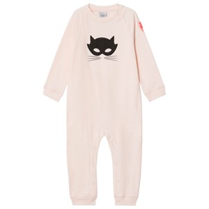 Image of Scamp & Dude Blush Cat Mask One-Piece 0-3 months (2927287165)