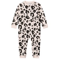 Scamp & Dude Blush Leopard Print Baby Grow Blush Leopard