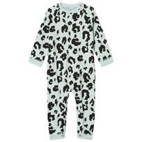 Scamp & Dude Green Leopard Print Baby Grow Green Leopard