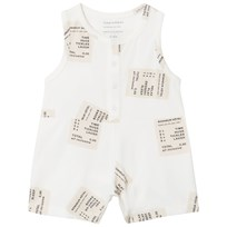 Tinycottons Tickets Onepiece Off-White/Stone off-white/stone