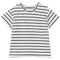 Tinycottons Small Stripes Tee Off-White/Navy off-white/navy