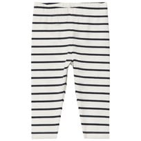 Tinycottons Small Stripes Byxor Off-White/Navy off-white/navy