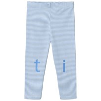 Tinycottons T-i-n-y Byxor Off-White/Cerulean Blue off-white/cerulean blue