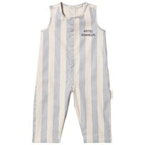 Tinycottons Stripes Jumpsuit Stone/Light Cerulean Blue stone/light cerulean blue
