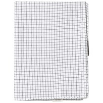 Tinycottons Grid Swaddle Filt White/Navy White/Navy