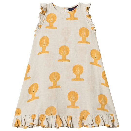 The Animals Observatory Cow Dress Beige Tao Busts BEIGE TAO BUSTS